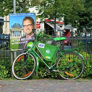 Fahrrad trifft Plakat
