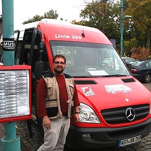 Fahrer beim Bürgerbus Westerstede e.V.