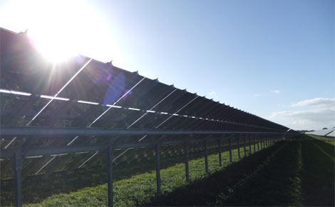Solarpark auf dem Fliegerhorst Oldenburg