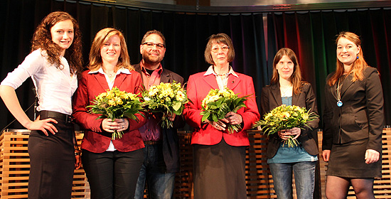 Pflegeschülerkongress Podium