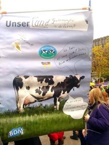 Gesehen auf der Agrardemo in Hannover im November 2012
