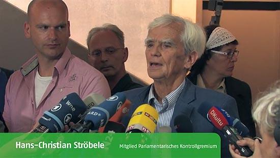Video der Bundestagsfraktion: NSA, PRISM und Co: Parlamentarisches Kontrollgremium