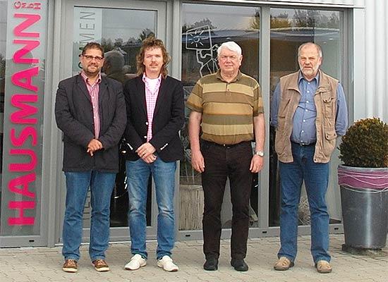 Firmenbesuch bei der Hausmann GmbH in Augustfehn