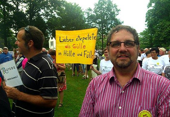 Demo gegen Massenkuhstall in Kleibrok 3