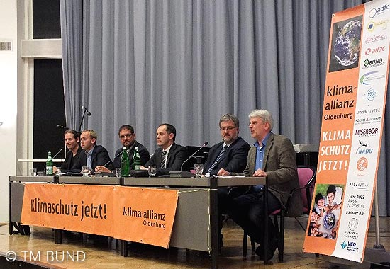 Podiumsdiskussion Klimaallianz 1