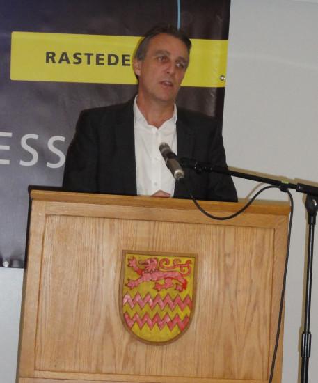 Eröffnung der Energiesparmesse durch Umweltminister Stefan Wenzel