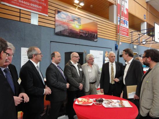 Rundgang auf der Energiesparmesse 2013 in Rastede