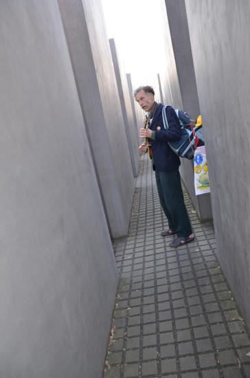 Friedemann im Holocaust-Mahnmal
