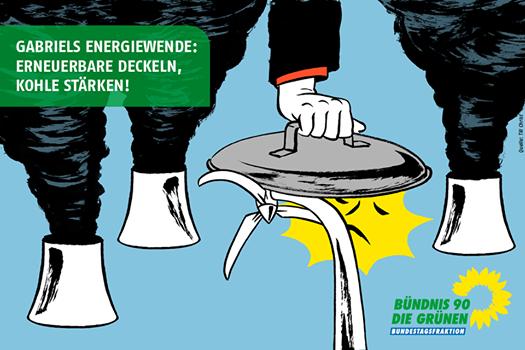 Schwarz-rot deckelt die Energiewende