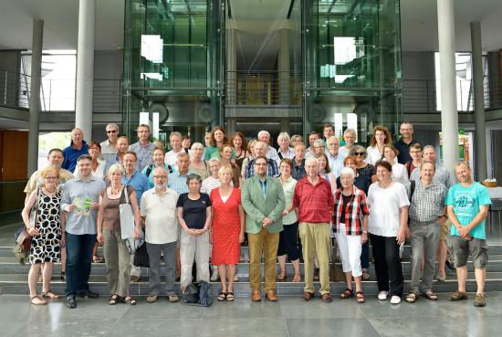 49 Bürger, Amts- und Mandatstäger der GRÜNEN und ich
