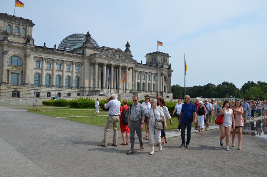 Auf dem Weg in den Bundestag