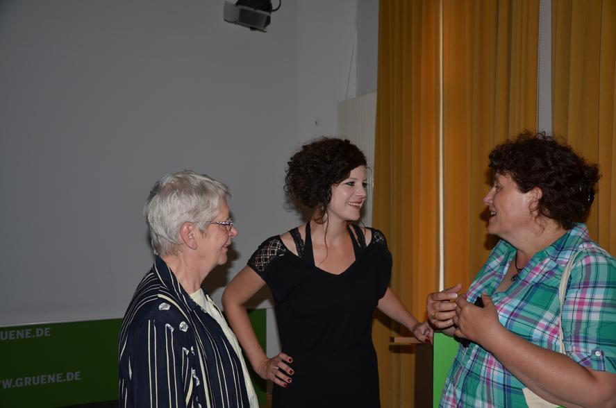 v.l.n.r.: Renate Brand, Gesine Agena, Christel Ahlers