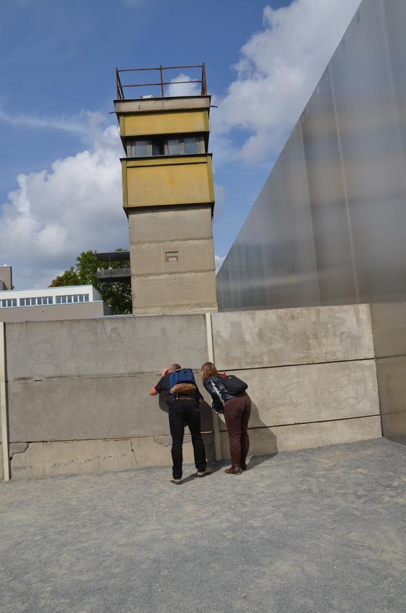 Mauergedenkstätte in der Bernauer Straße