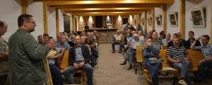 Rege Diskussion im Kultur - Gulfhof - Freepsum