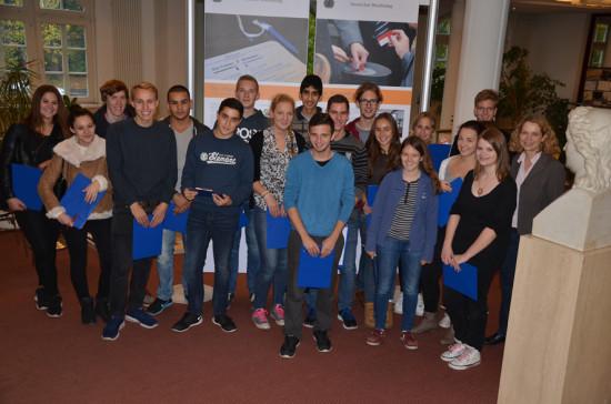 Herbartgymnasium Kl. 11 mit Lehrerin Elke Wolter