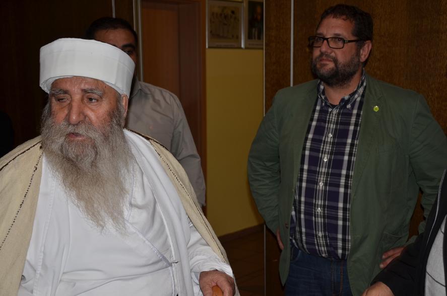Baba Sheikh Khato Haji Ismail. religiöses Oberhaupt aller Yeziden