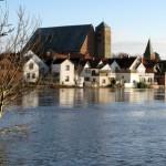 Hochwasser der Aller bei Verden                                  (neurolle Rolf /pixelio.de)