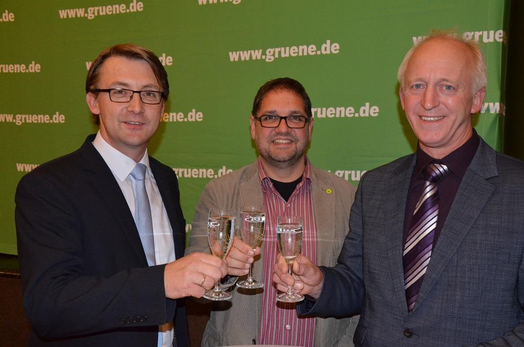 V.l.n.r.: Karsten Specht (Geschäftsführer OOWV), ich (MdB), Hartmut Seetzen (Kreislandvolk Friesland)