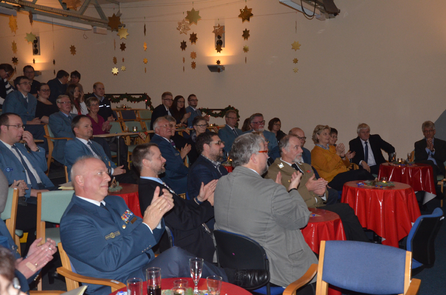 Das Publikum ist Begeistert