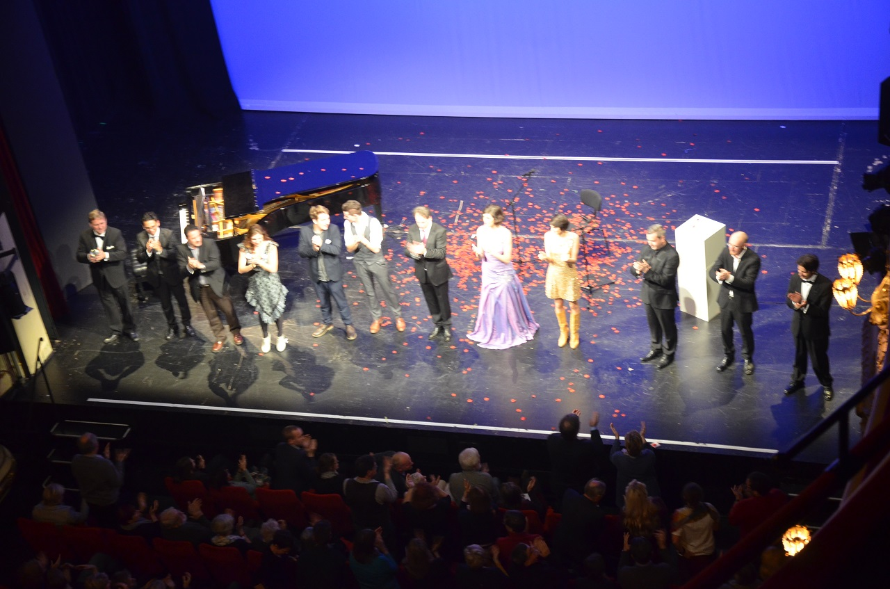 Viel Applaus am Ende eines gelungenen Abends im Staatstheater.