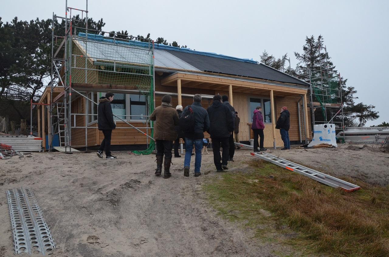 Nun hat auch Langeoog sein Vogelwärterhaus. Ostern wird es eingeweiht werden.