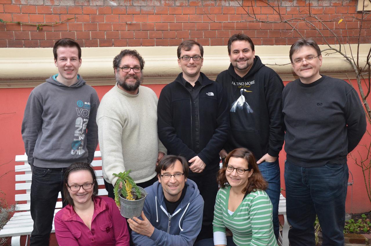 Mein Team vereint in Oldenburg bei der Büroklausur – selbstverständlich mit Grünkohl!