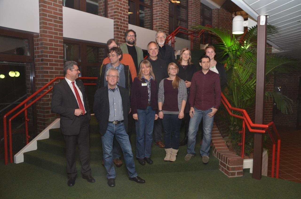 Gruppenfoto mit der Ammerländer und Oldenburger Fraktion