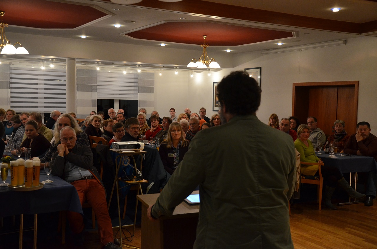 ... vor Publikum... (Bild: Solvey)