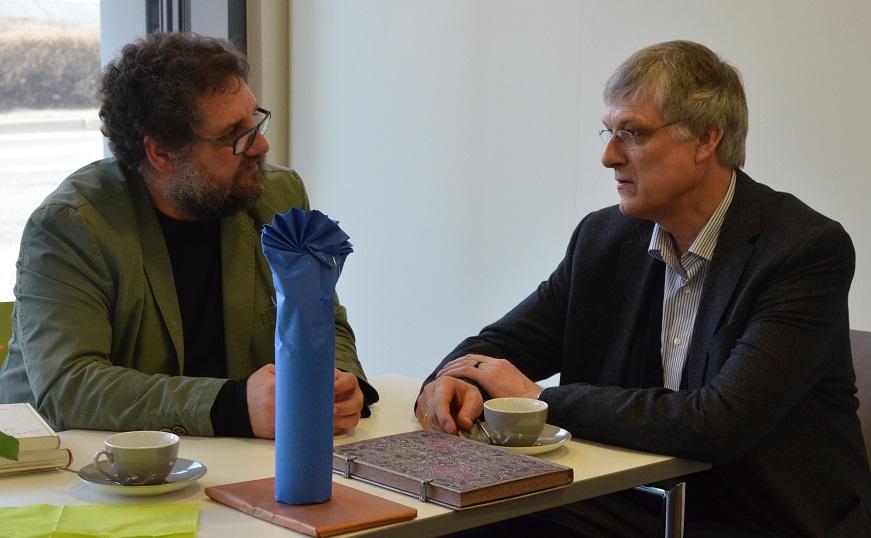 Gespräch mit Klaus Hagedorn