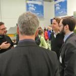 Peter Meiwald diskutiert mit dem Bundesverband Bioenergie