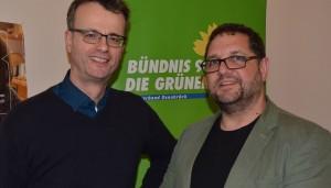 Volker Bajus, MdL und ich, MdB