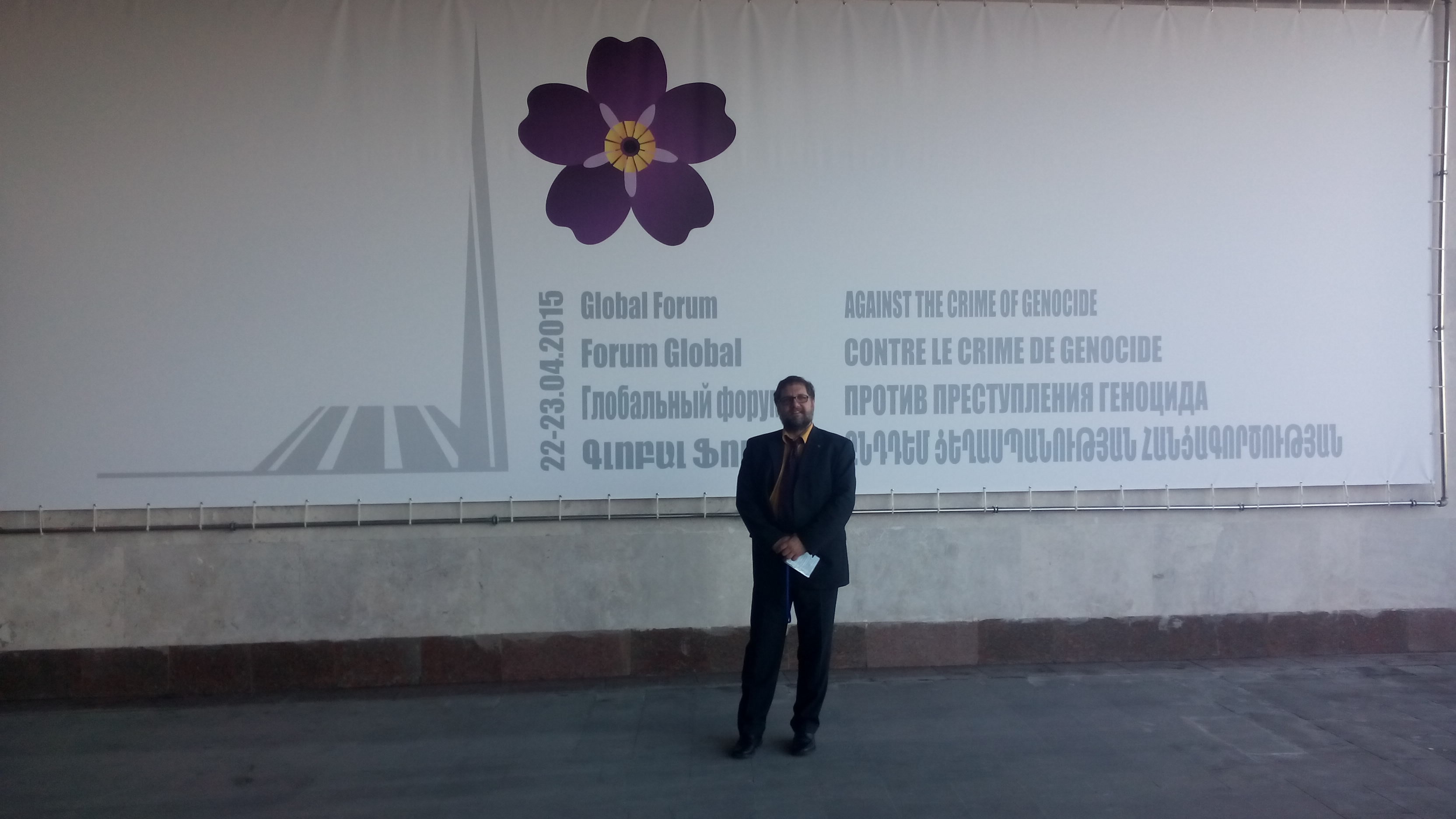 Vor der Kongresshalle