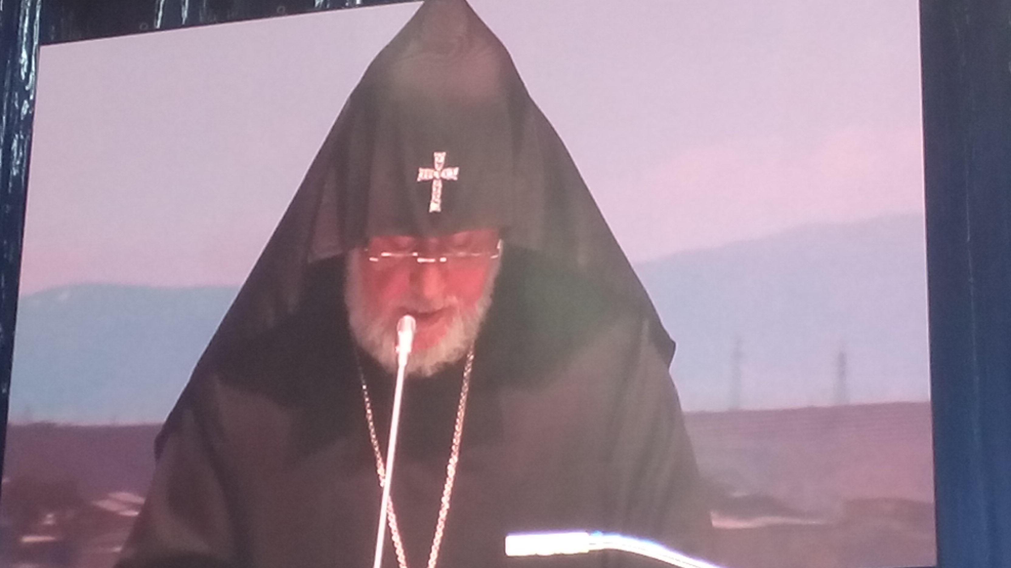 Karekin II, Catholicos aller Armenier