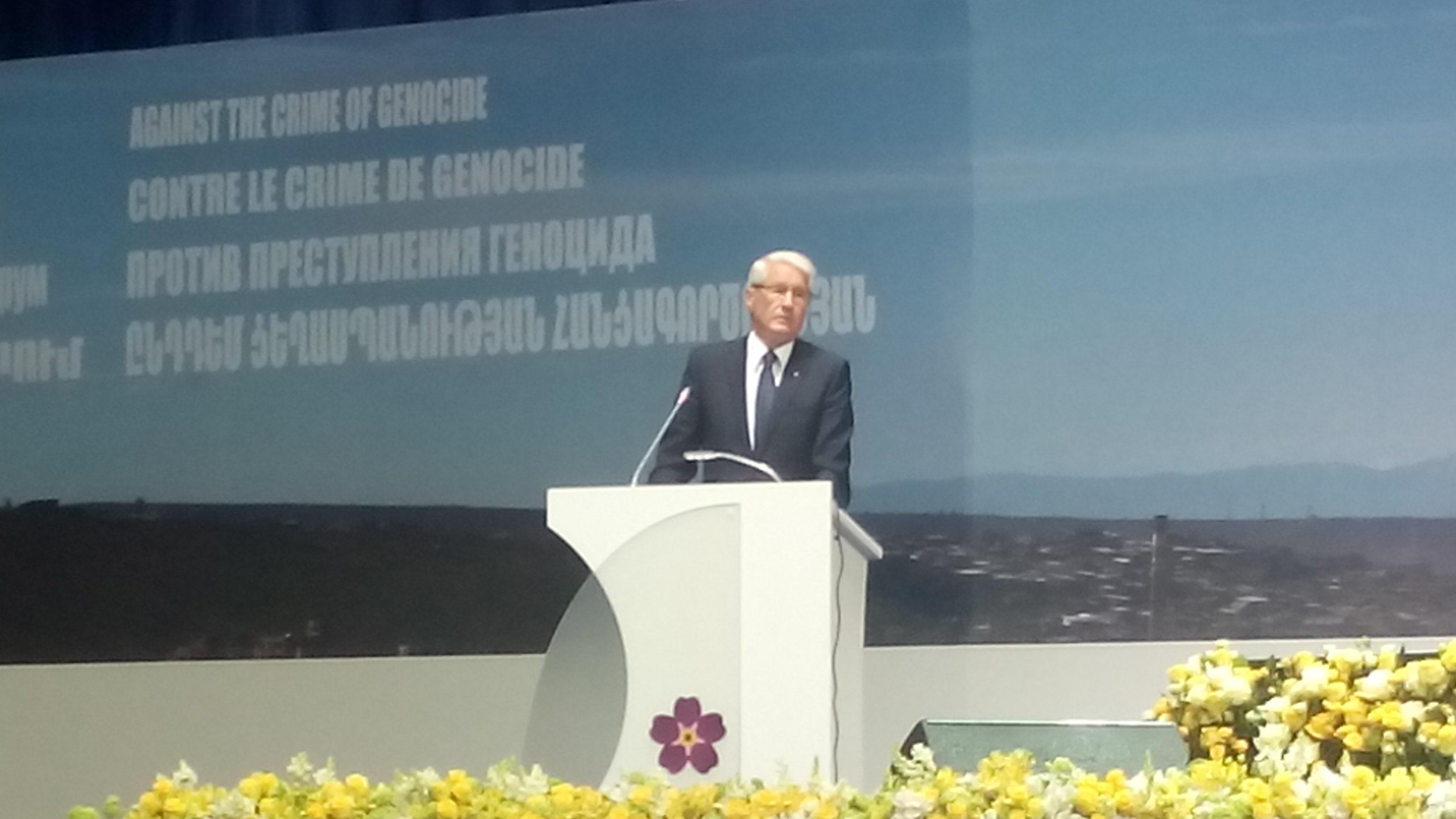 S.E. Präsident Sersh Sargsyan