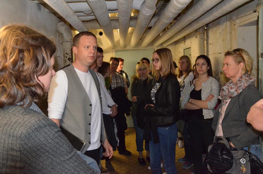 Führung durch die Gedenkstätte Berlin-Hohenschönhausen (ehem. Zentrale Untersuchungshaftanstalt der Stasi), hier im Keller, genannt 'das U-Boot'.