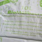Klassischer Beutel für den Biomüll