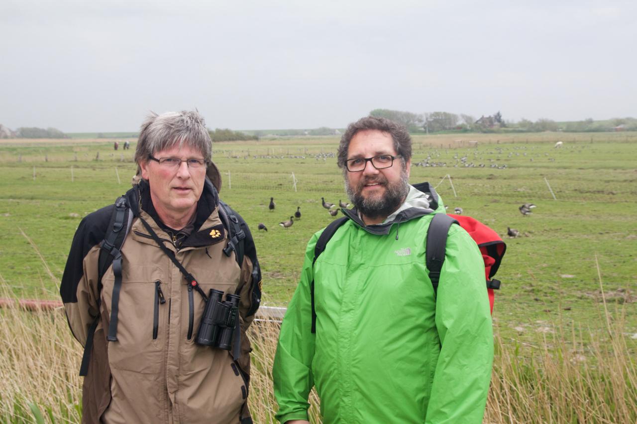 Dr. Hans-Ulrich Rösner und ich [Foto: Jannes Fröhlich/WWF]