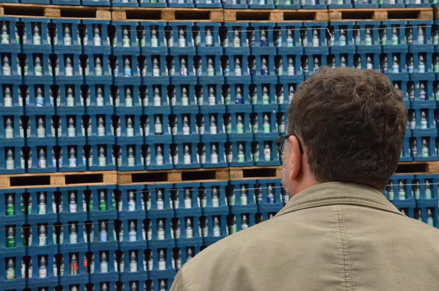 Pfandflaschen! Alles voller Pfandflaschen!