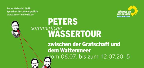 Flyer Wassertour 6.-12.7.