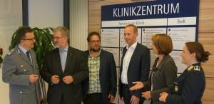 Dr.Weßling, Stephan Albani (MdB), ich (MdB), Dennis Rohde (MdB), Barbara Woltmann (MdB), Dr.Schilling