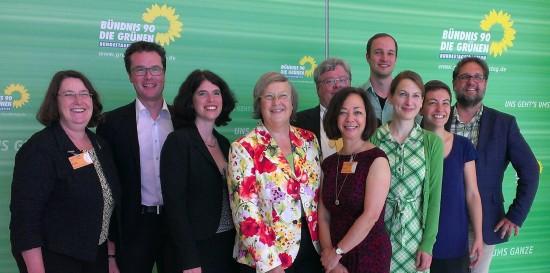 TeilnehmerInnen am Treffen zu TTIP