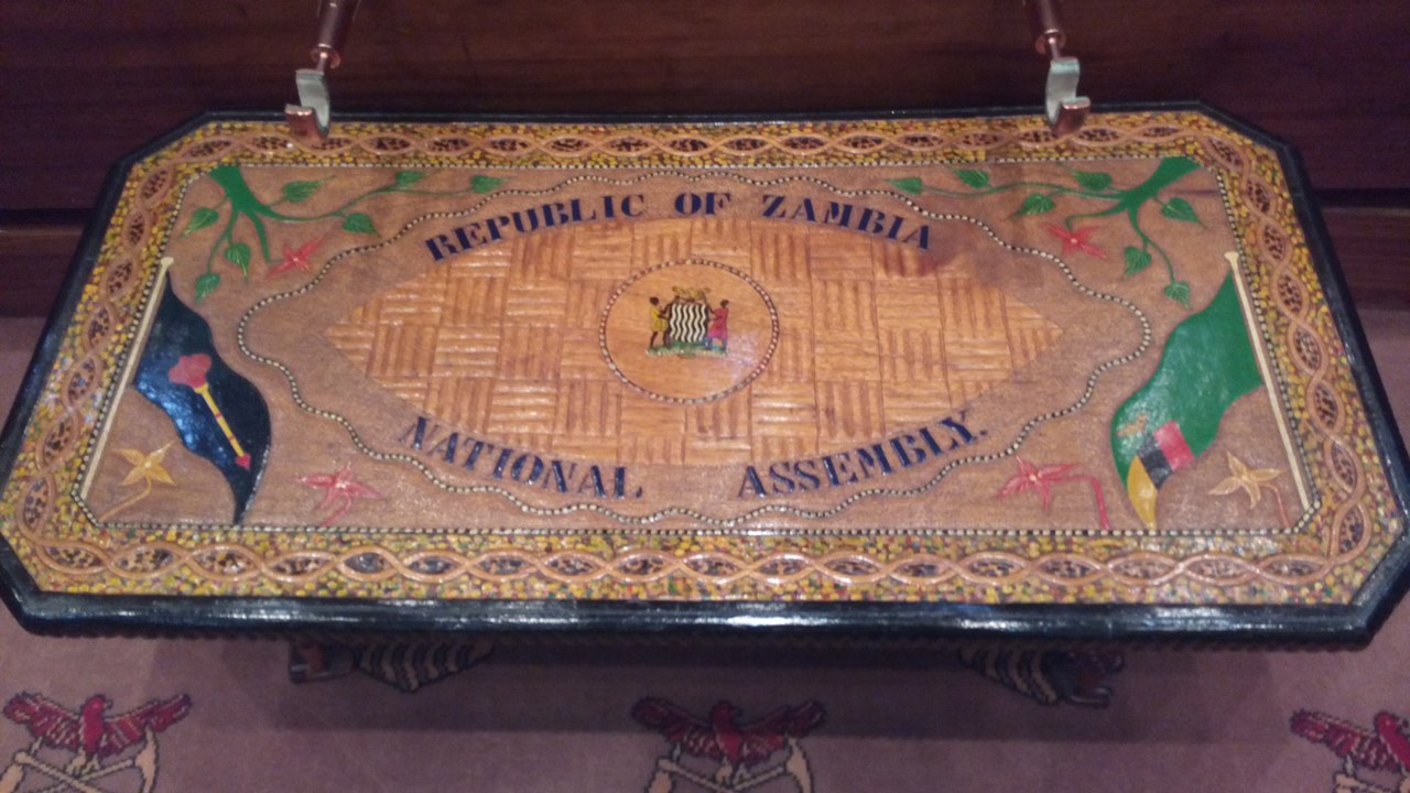 In der zambischen Nationversammlung