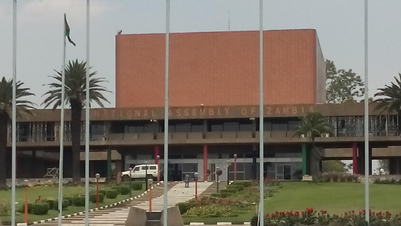 Die zambische Nationversammlung