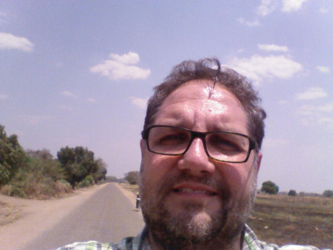 Selfie in der Savanne