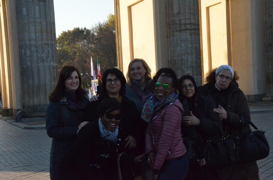Vor dem Brandenburger Tor - natürlich...