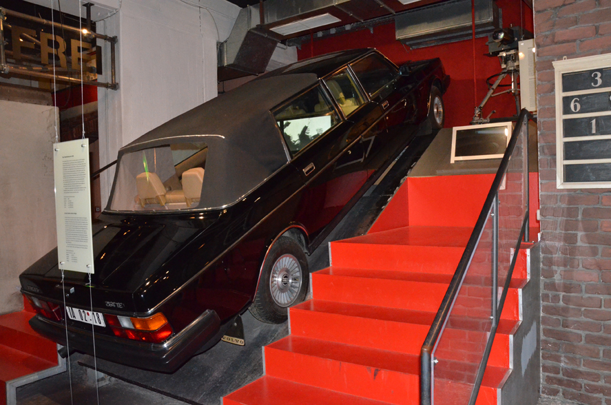 Dienstwagen Honeckers in der Ausstellung