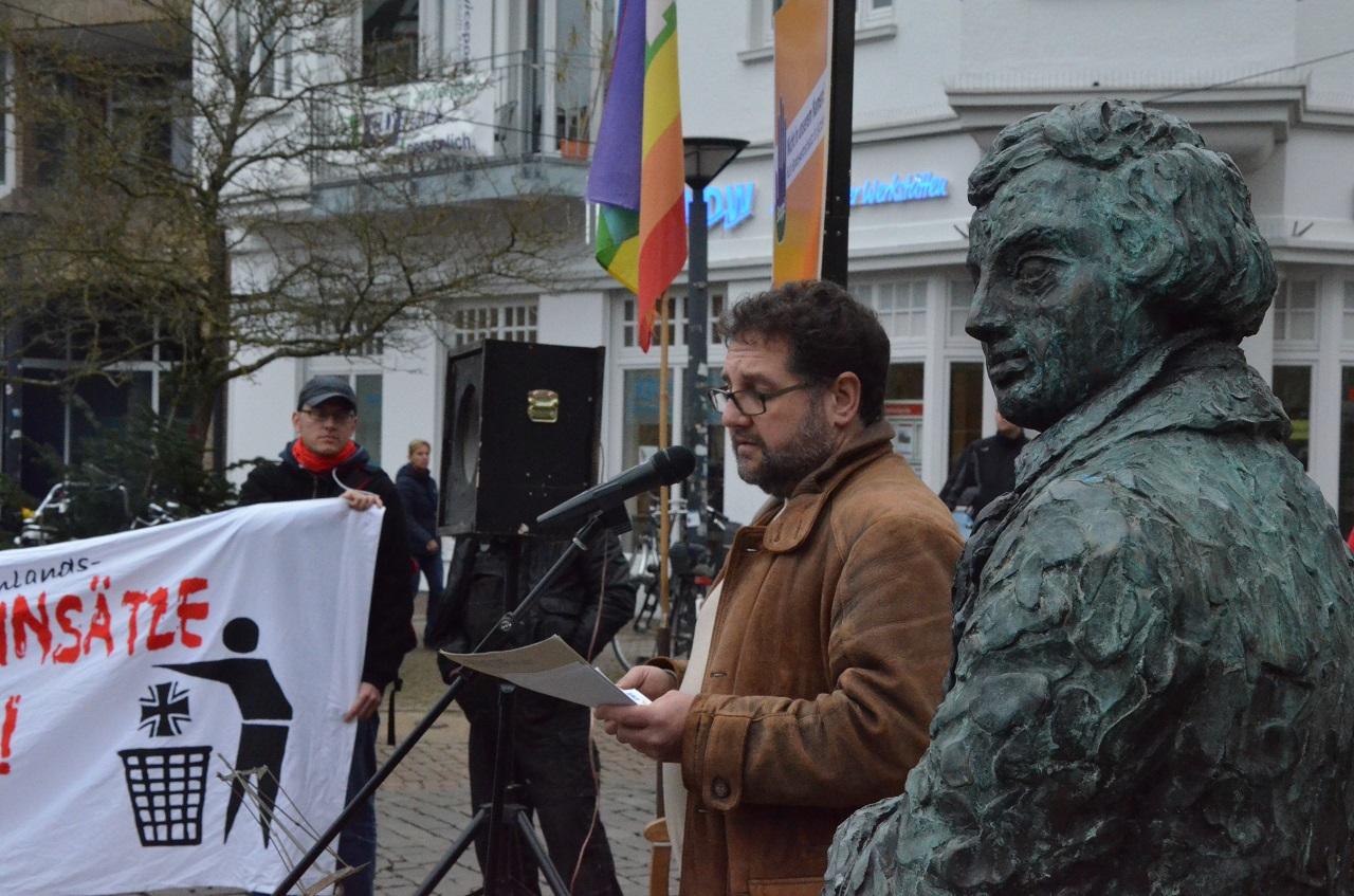 Rede auf der Friedenskundgebung des Oldenburger Friendesbündnisses am 19.12.2015