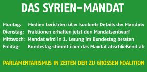 Parlamentsbeteiligung Syrien-Mandat