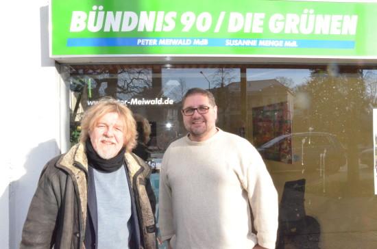 Der pädagogische Direktor der katholischen Akademie Stapelfeld, Dr. Heinrich Dickerhoff, hat mich im Wahlkreis besucht.