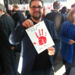 Peter Meiwald Red Hand Day 2016